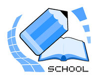 School icon Royalty Free Stock Photography