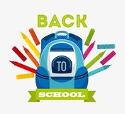 School icon design Royalty Free Stock Image