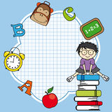 School icon Stock Images