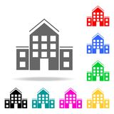 School Icon. Elements in multi colored icons for mobile concept and web apps. Icons for website design and development, app develo. Pment on white background Stock Images