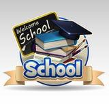 School icon Stock Photo
