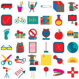 School Icon 4 Royalty Free Stock Images