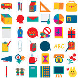 School Icon 2 Royalty Free Stock Photos