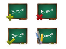 School icon set Stock Photography