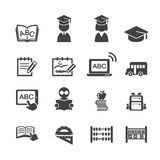 School icon Stock Image
