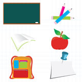 School_icons Stock Images
