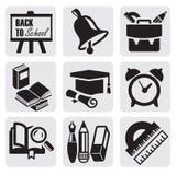 School icons Stock Photo