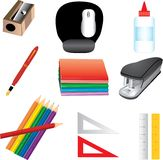 School Icons 3 Royalty Free Stock Photo