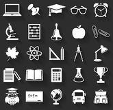 School icons. Vector set.