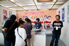 School Idol Project in Anime Festival Asia - Indonesia 2013 Stock Photos