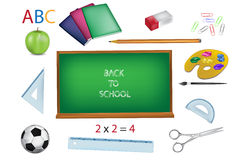 School  illustration Stock Photo