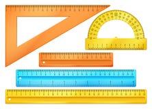Free School Instruments, Rulers Vector Set Stock Image - 71572491