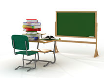 School interior. The training concept. Stock Photo