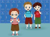 School intimidatie Stock Afbeelding