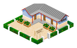 School Isometric Royalty Free Stock Image