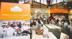 School italian Gelato Carpigiani University Fico Eataly World. The school of italian Gelato Carpigiani University at Fico Eataly World in Bologna, Italy, 19 Nov Stock Photography