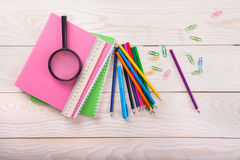 School items Royalty Free Stock Images