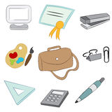 School Items Royalty Free Stock Image