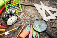 School items Stock Image