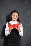 School jigsaw puzzle, big puzzle. Royalty Free Stock Image