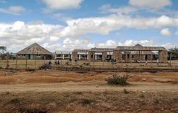 School in Kenya Royalty Free Stock Photo