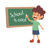 School kid primary education character vector. Stock Photography