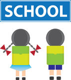School kids Royalty Free Stock Image