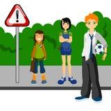 School kids Stock Images