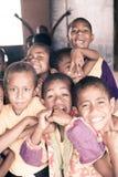 School kids. In Viti Levu, Fiji Stock Image