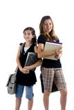 School Kids. Young kids are ready for school. Education, family, learning Stock Photography