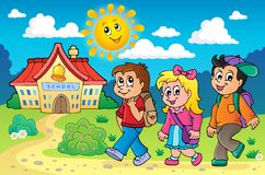 School kids theme image 4 Stock Photo