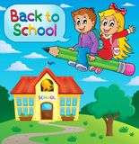 School kids theme image 9 Royalty Free Stock Image