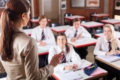 School-Klassenzimmer lizenzfreie stockbilder
