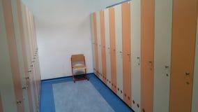 School kleedkamer Royalty-vrije Stock Afbeeldingen