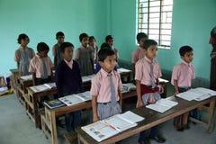 School in Kumrokhali Stock Image