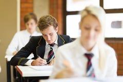 School-Kursteilnehmer Stockfoto