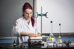 School laboratory Stock Images