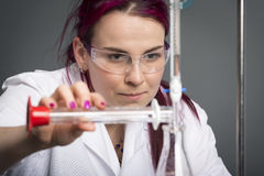 School laboratory Royalty Free Stock Photo
