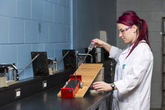 School laboratory Royalty Free Stock Images
