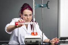School laboratory Stock Image