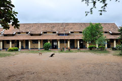 School in Laos Stock Photo