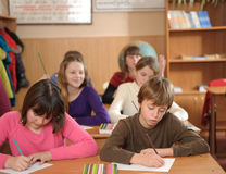 School lesson Stock Images