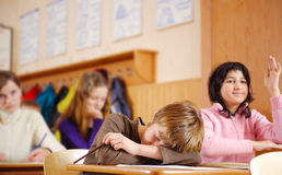 School lesson Royalty Free Stock Photography