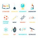 School lessons icon Stock Photos