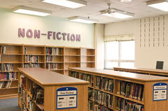 School library media center Royalty Free Stock Image