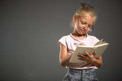 School little girl Royalty Free Stock Photo