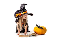 School of Little Witches Royalty Free Stock Photo