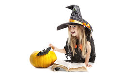 School of Little Witches Stock Image