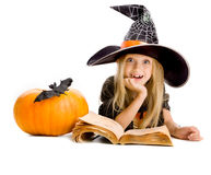 School of little witches Stock Photos
