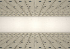 School Locker Corridor Stock Photos
